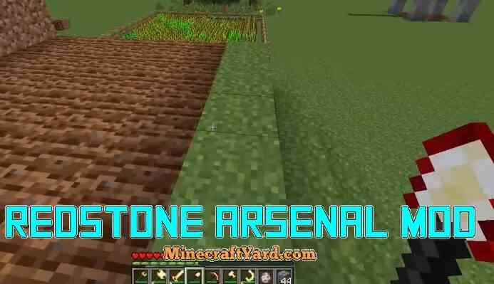 Redstone Arsenal Mod 1.16.2/1.16.1/1.15.2