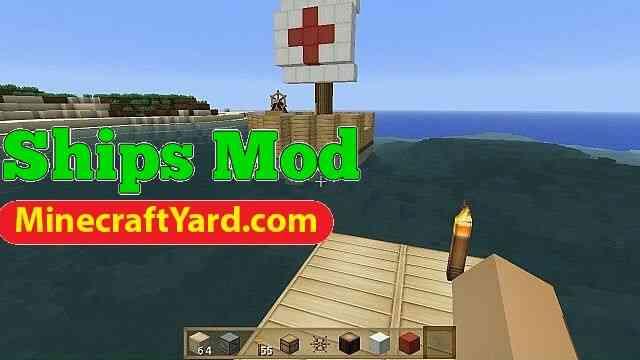 Ships Mod 1.14/1.13.2/1.12.2/1.11.2
