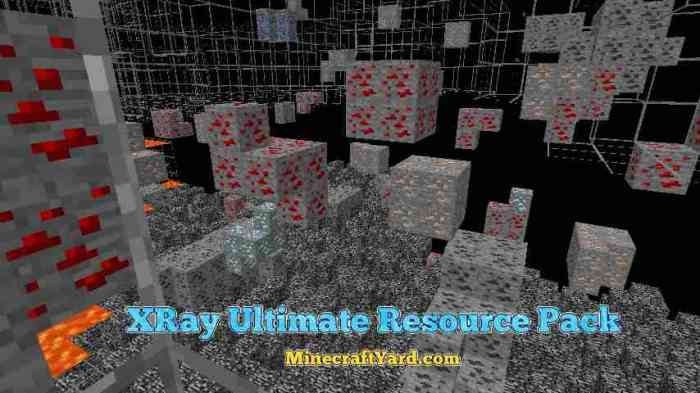 XRay Ultimate Resource Pack 1.13.1/1.13/1.12.2