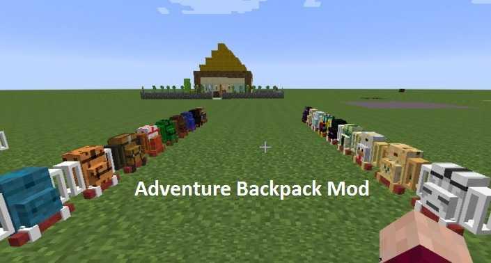 Adventure Backpack Mod 1.16.5/1.15.2
