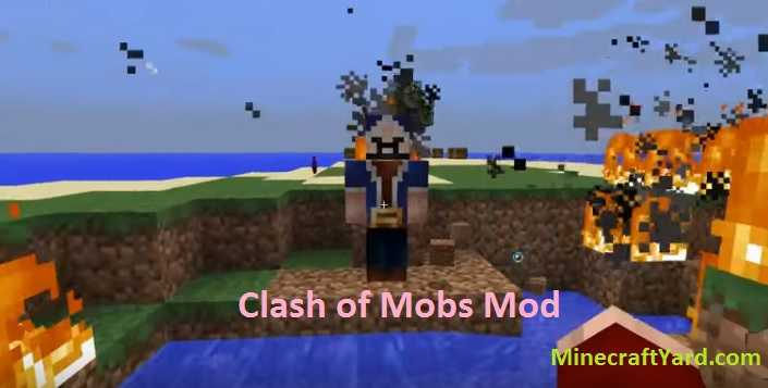 Clash of Mobs Mod 1.16.4/1.15.2