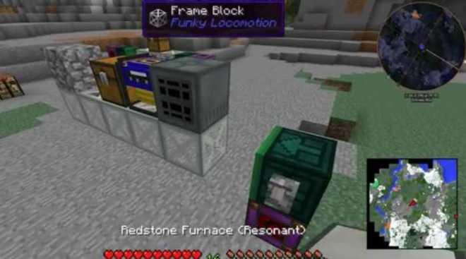 Funky Locomotion Mod 1