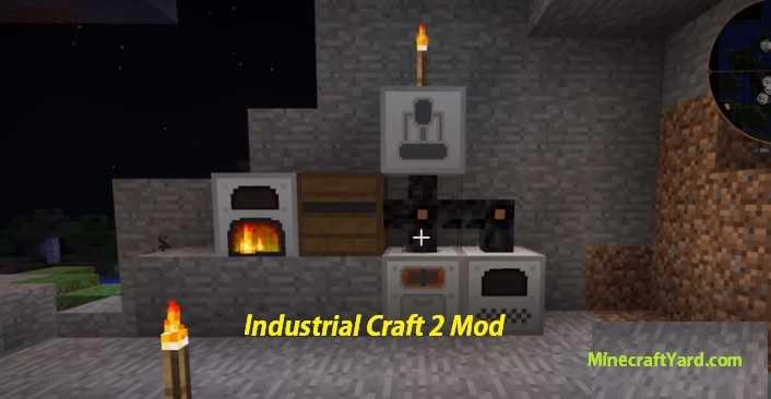 Industrial Craft 2 Mod 1.15.2/1.14.4/1.13.2/1.12.2/1.11.2