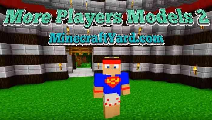 More Player Models 2 Mod 1.14/1.13.2/1.12.2/1.11.2