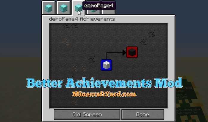 Better Achievements Mod 1.16.4/1.15.2