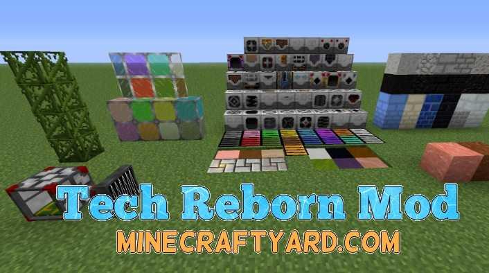 Tech Reborn Mod 1.15.1/1.14.4/1.13.2/1.12.2