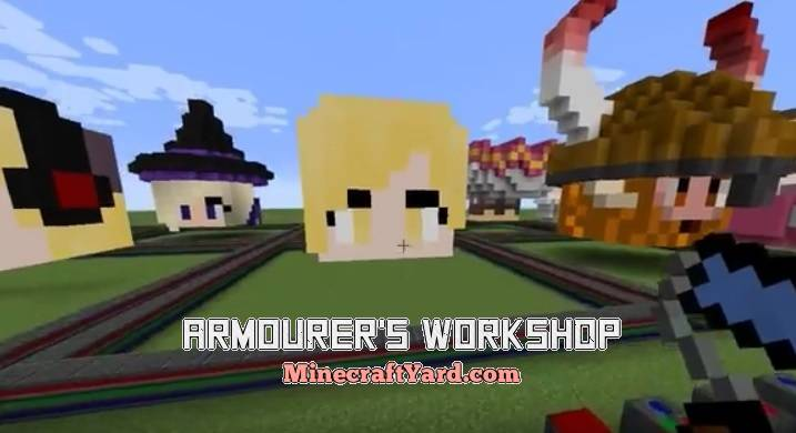 Armourer's Workshop 1.14/1.13.2/1.12.2/1.11.2
