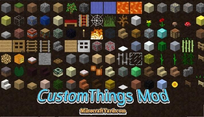 CustomThings Mod 1.14/1.13.2/1.12.2/1.11.2