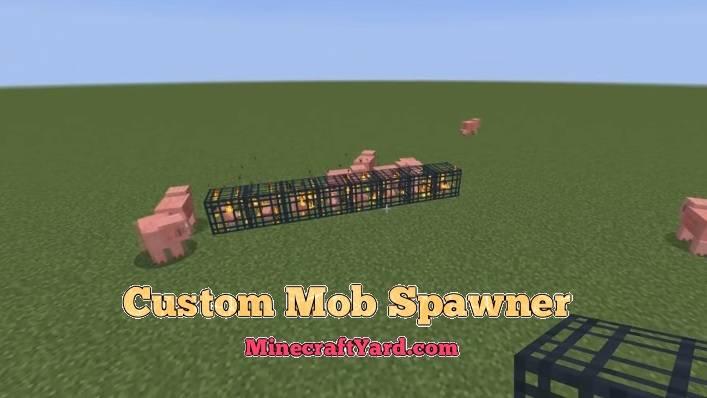 Custom Mob Spawner 1.10.2/1.9.4