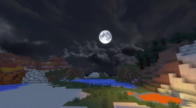 Dramatic Skys Resource Pack 5