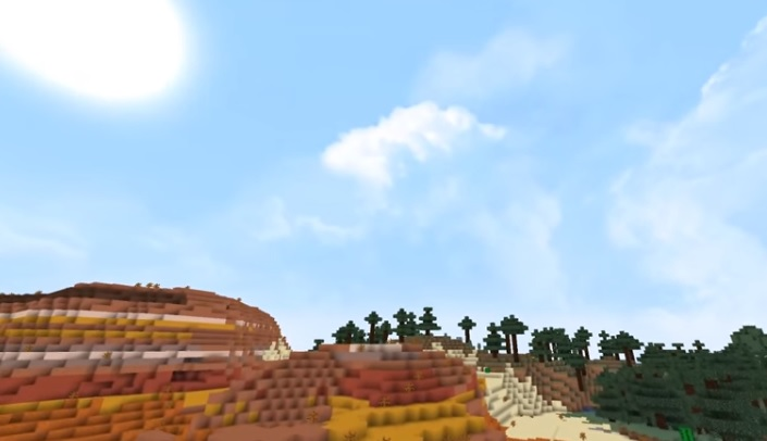 Dramatic Skys Resource Pack 1.17.1/1.16.5