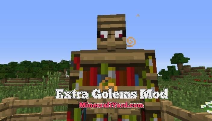 Extra Golems Mod 1.16.5/1.15.2