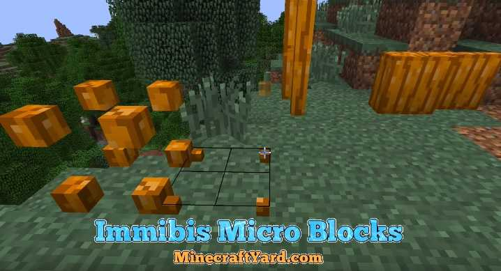 Immibis Micro Blocks Mod 1.14/1.13.2/1.12.2/1.11.2