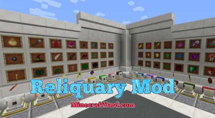 Reliquary Mod 1.15.2/1.14.4/1.13.2/1.12.2/1.11.2