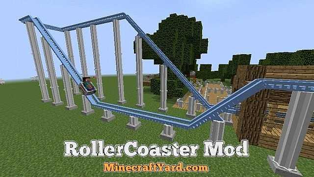 Rollercoaster 1.14/1.13.2/1.12.2/1.11.2