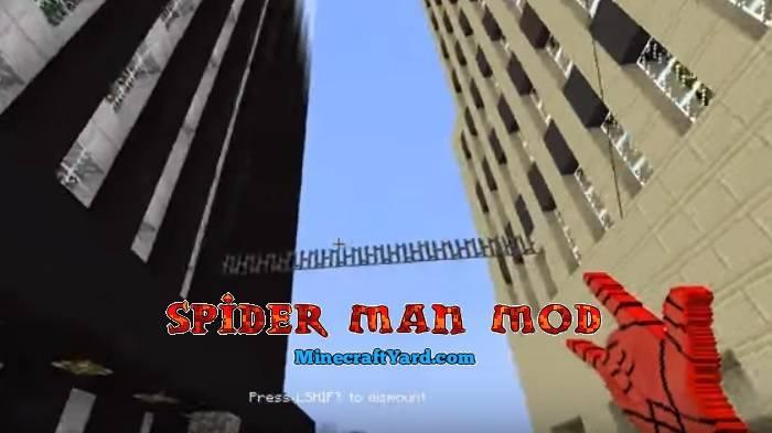 Spider Man Mod 1.16.5/1.15.2