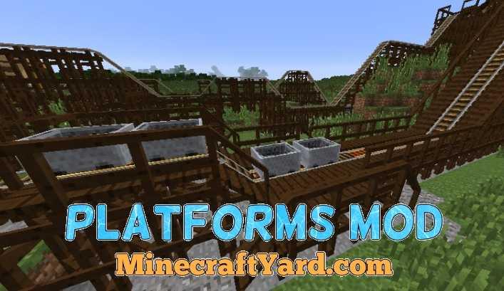 Platforms Mod 1.14/1.13.2/1.12.2/1.11.2