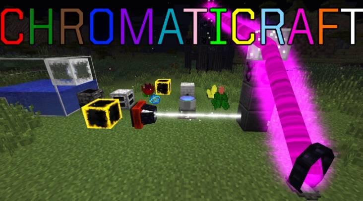 ChromatiCraft Mod 1.14/1.13.2/1.12.2/1.11.2