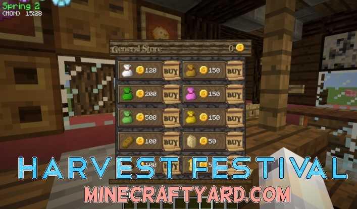 Harvest Festival 1.16.5/1.15.2