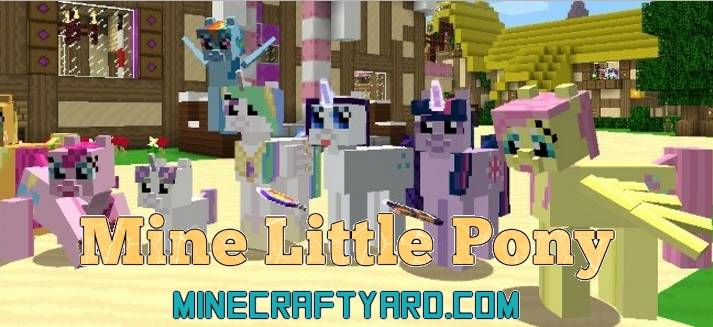 Mine Little Pony Mod 1.16.2/1.16.1/1.15.2
