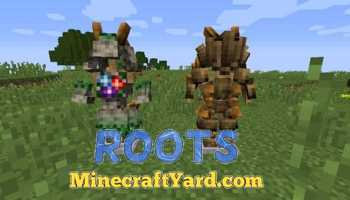 Roots Mod 1.14/1.13.2/1.12.2/1.11.2