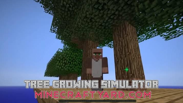 Tree Growing Simulator 1.16.5/1.15.2