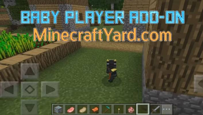 Baby Player Add-on MCPE and Win 10 1.14.30/1.13.3/1.12.1/1.11.4