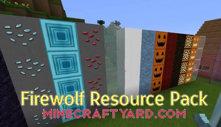 Firewolf Resource Pack 1.13.1/1.13/1.12.2