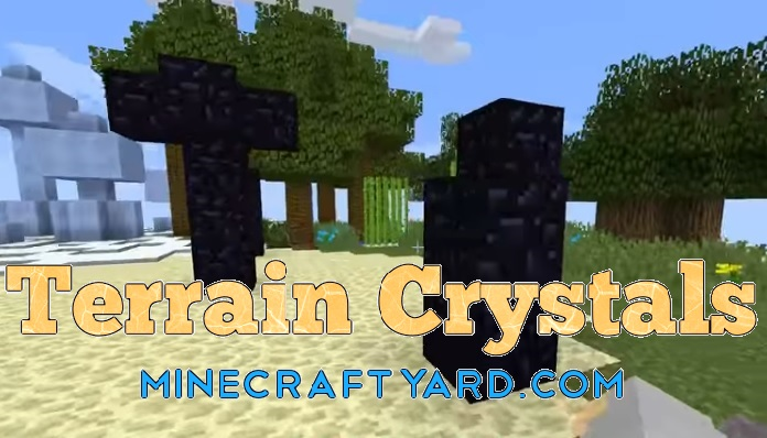 Terrain Crystals Mod 1.16.5/1.15.2