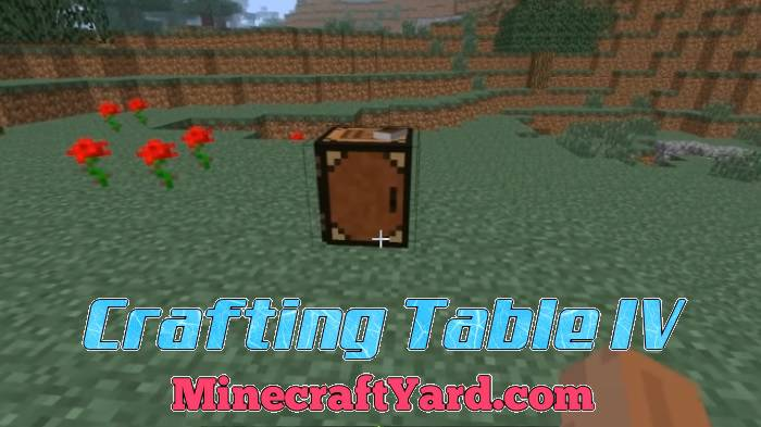 Crafting Table Iv 1 16 5 1 15 2 1 14 4 Minecraft Yard