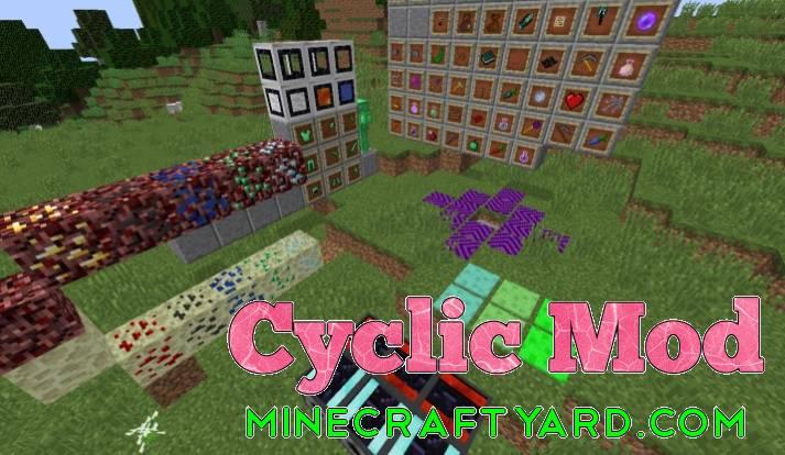 Cyclic Mod 1.14.4/1.13.2/1.12.2/1.11.2