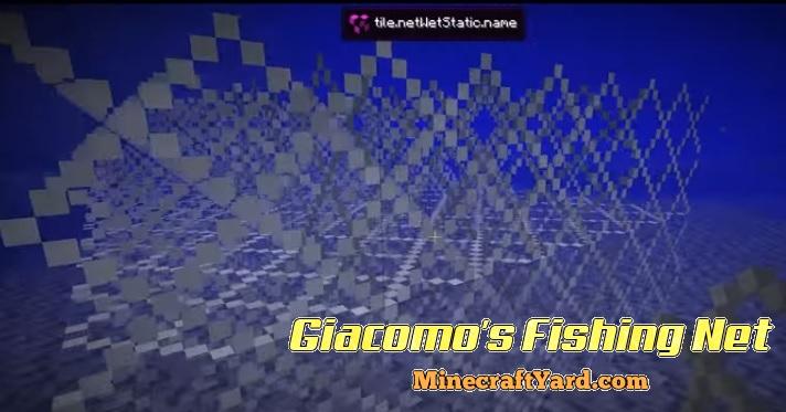 Giacomo's Fishing Net 1.14/1.13.2/1.12.2/1.11.2