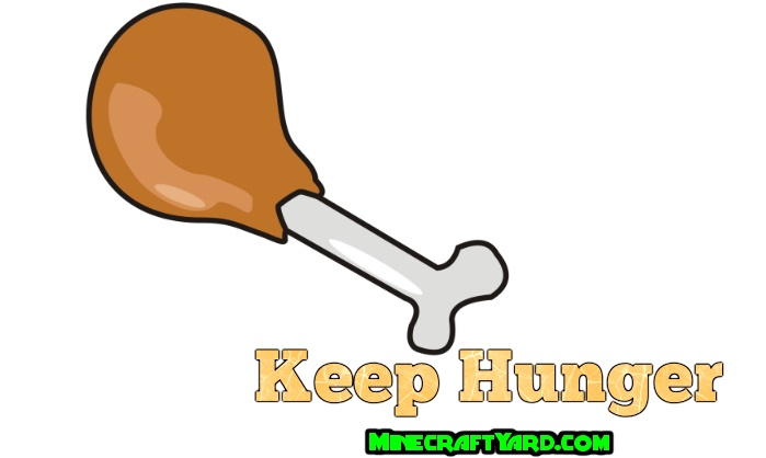 Keep Hunger Mod 1.16.5/1.15.2
