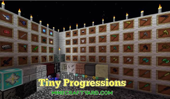 Tiny Progressions Mod 1.14/1.13.2/1.12.2/1.11.2