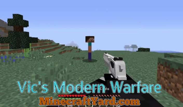 Vic's Modern Warfare 1.14.3/1.13.2/1.12.2/1.11.2