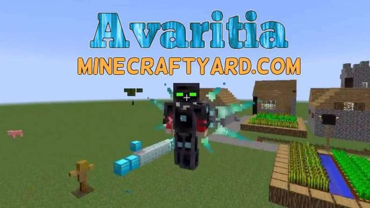 Avaritia Mod 1 16 5 1 15 2 1 14 4 For Minecraft Yard