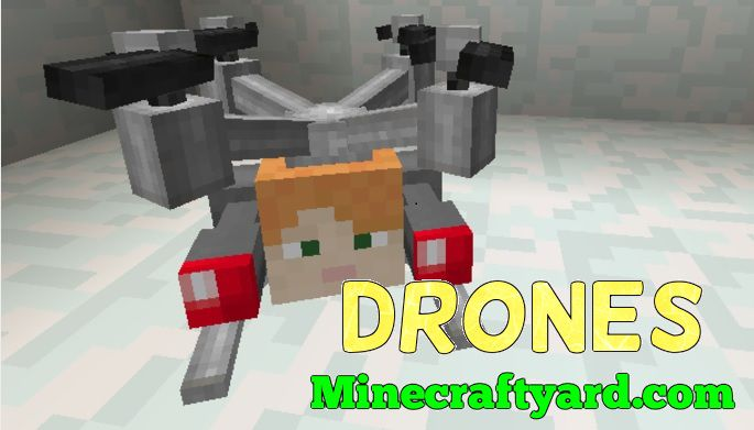 Drones Mod 1.16.5/1.15.2