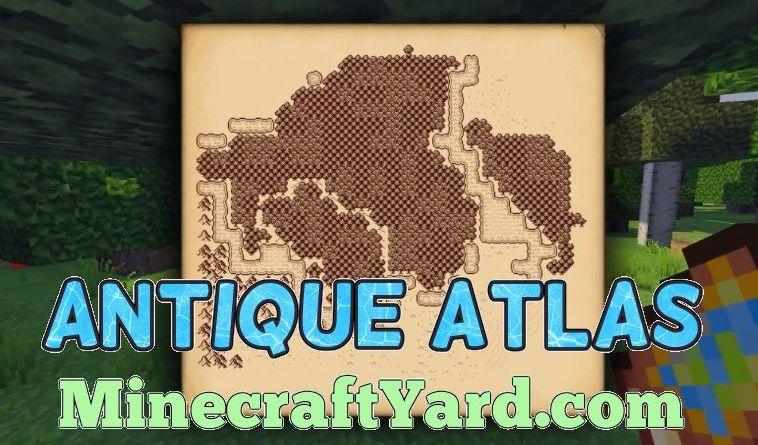 Antique Atlas 1.17.1/1.16.5