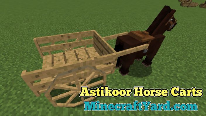 Astikoor Horse Carts 1.16.4/1.15.2