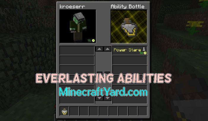 Everlasting Abilities 1.14/1.13.2/1.12.2/1.11.2