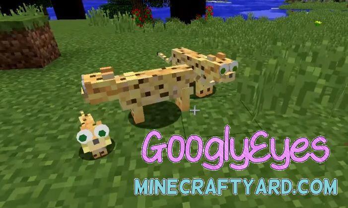 GooglyEyes Mod 1.16.5/1.15.2