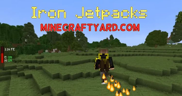 Iron Jetpacks 1.15.2/1.14.4/1.13.2/1.12.2/1.11.2
