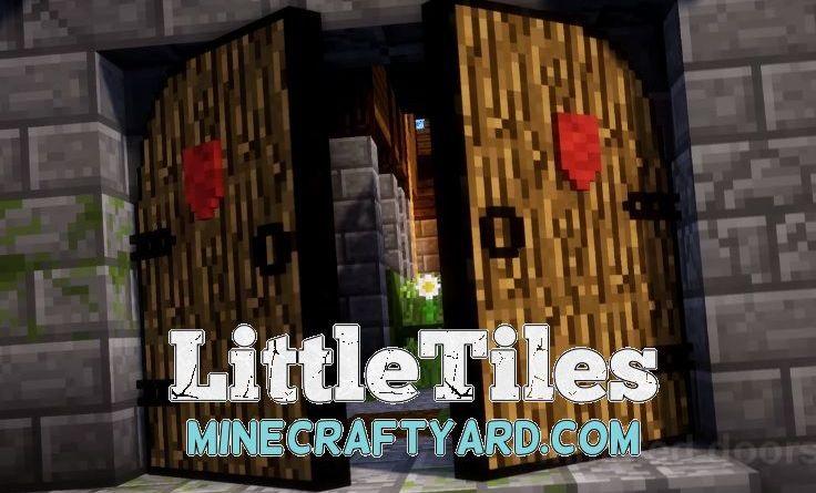 LittleTiles 1.15.2/1.14.4/1.13.2/1.12.2/1.11.2