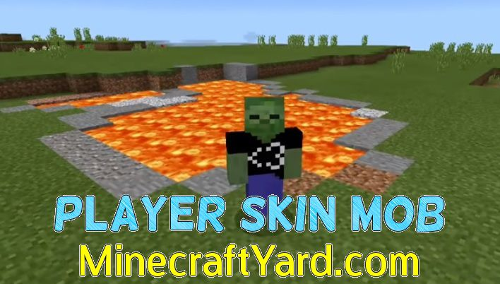 Player Skin Mob 1.14/1.13.2/1.12.2/1.11.2