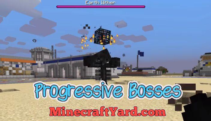 Progressive Bosses 1.14.4/1.13.2/1.12.2
