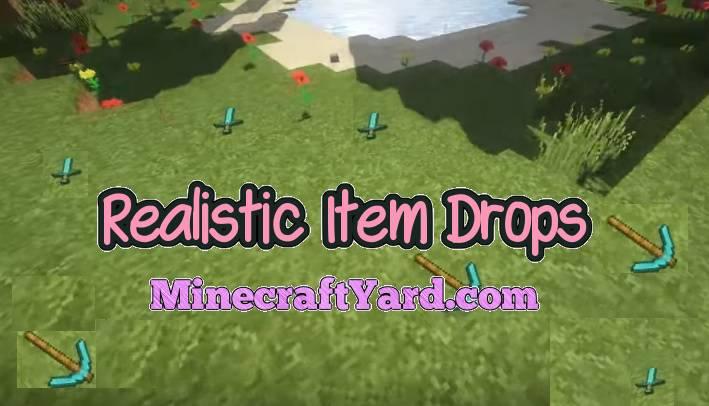 Realistic Item Drops 1.16.5/1.15.2