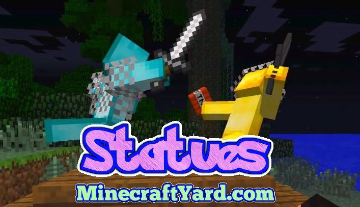 Statues Mod 1.14.3/1.13.2/1.12.2/1.11.2