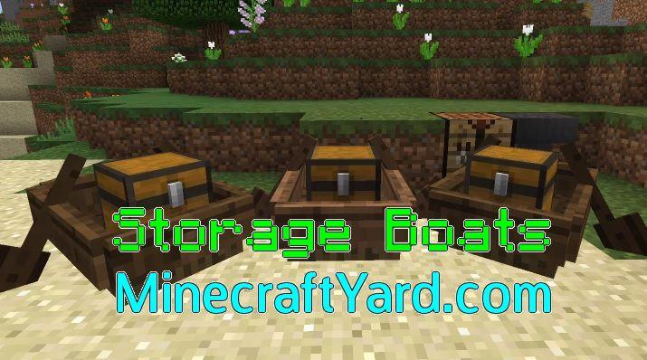 Storage Boats 1.16.5/1.15.2