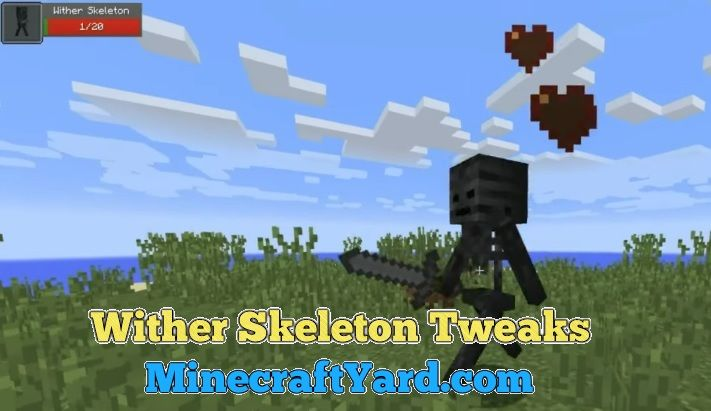 Wither Skeleton Tweaks 1.16.3/1.15.2