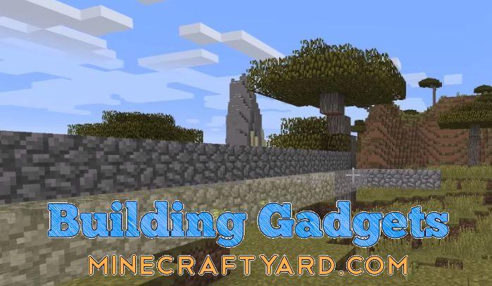 Building Gadgets Mod 1.16.5/1.15.2